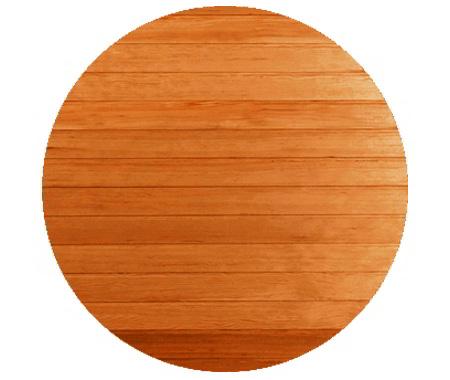 legno per sauna in cedro rosso