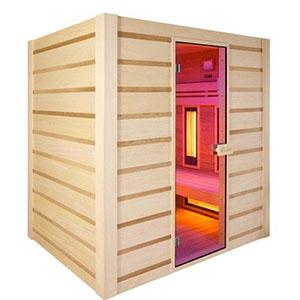 saune con irradiatori infrarossi quarzo e magnesio