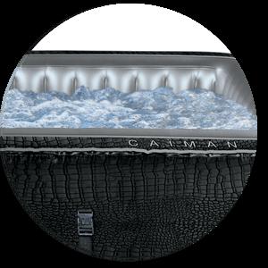 Massaggio Riscaldamento e Filtrazione della vasca idromassaggio quadrata