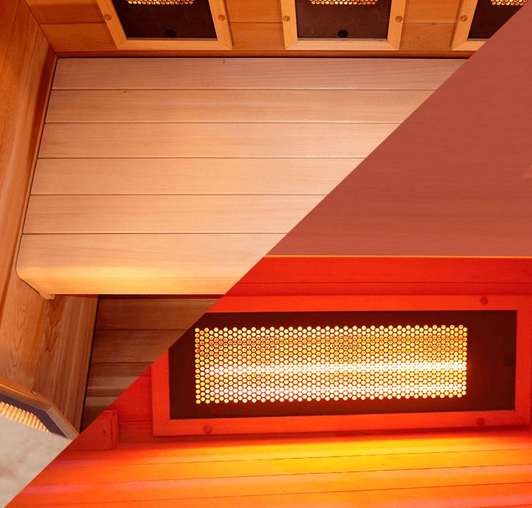 panche per sauna