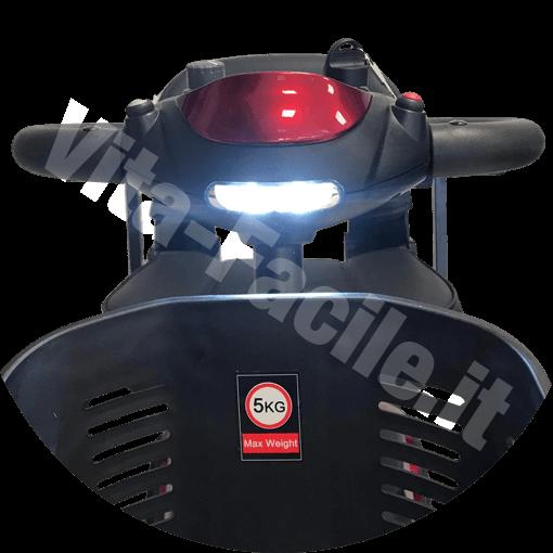 Faro dello scooter elettrico epr disabili Kometa Pix