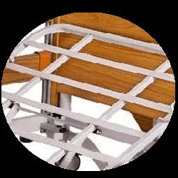 rete in ferro del letto bariatrico elettrico