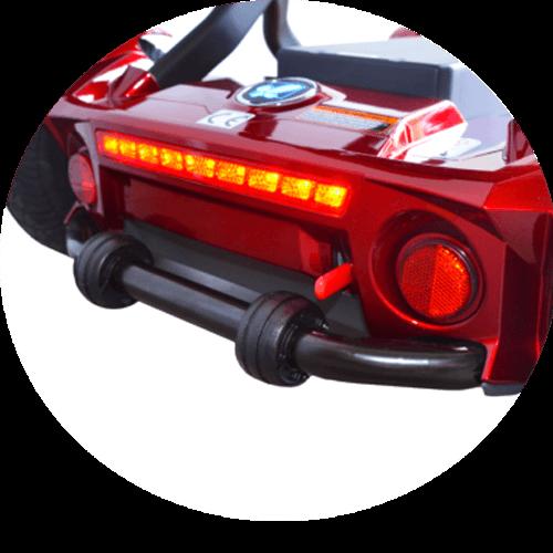 fari posteriori dello scooter per disabili pieghevole S26