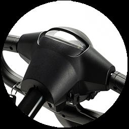 Faro anteriore dello scooter elettrico trasportabile per anziani Venus Sport
