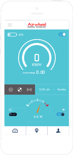 app Airwheel A6