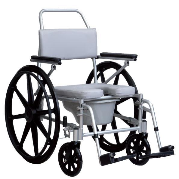 sedia a rotelle per doccia