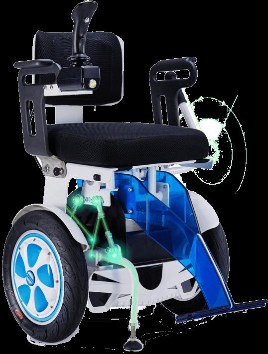 carrozzina elettrica per invalidi autobilanciata