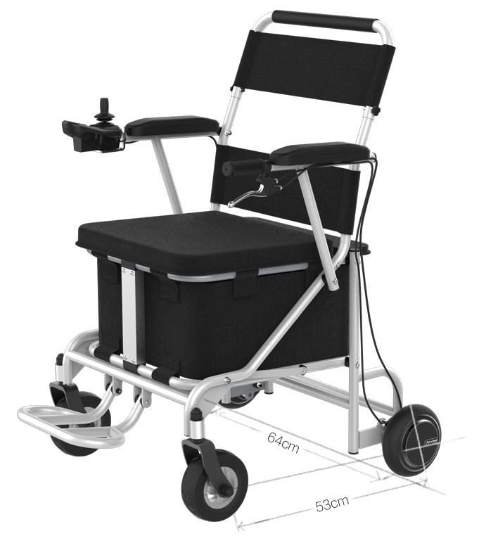 Sedia a rotelle elettrica con batteria al litio h8 vita for Sedia elettrica esecuzione reale