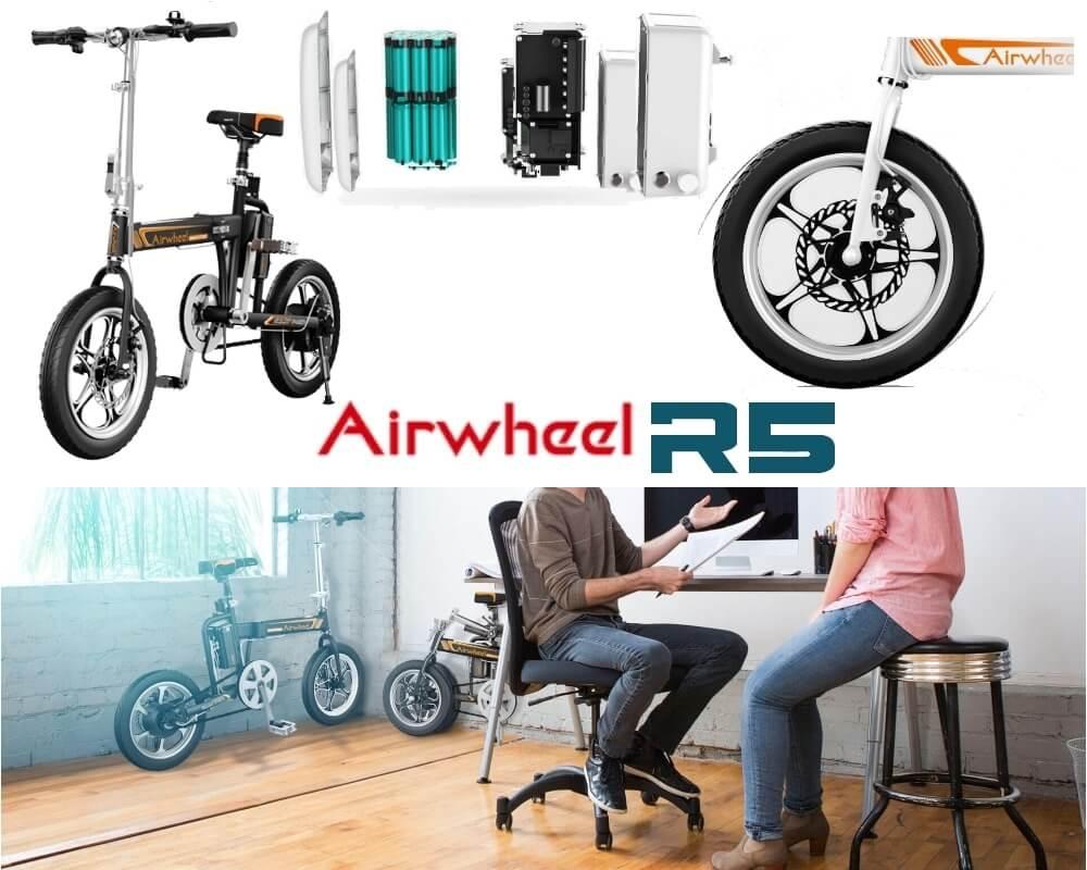 airwheel r5 bicicletta elettrica