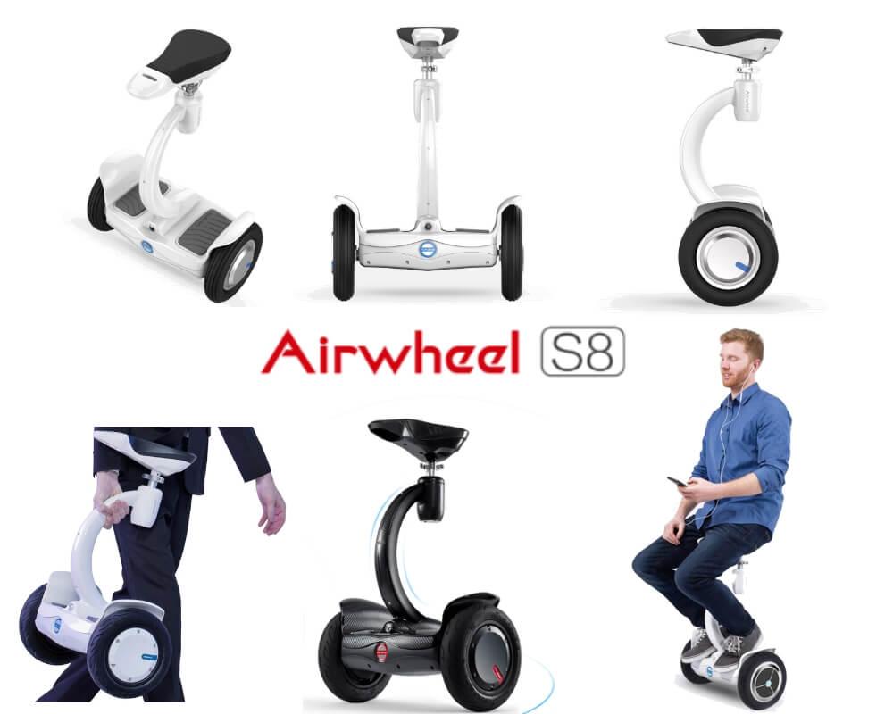 riepilogo airwheel s8