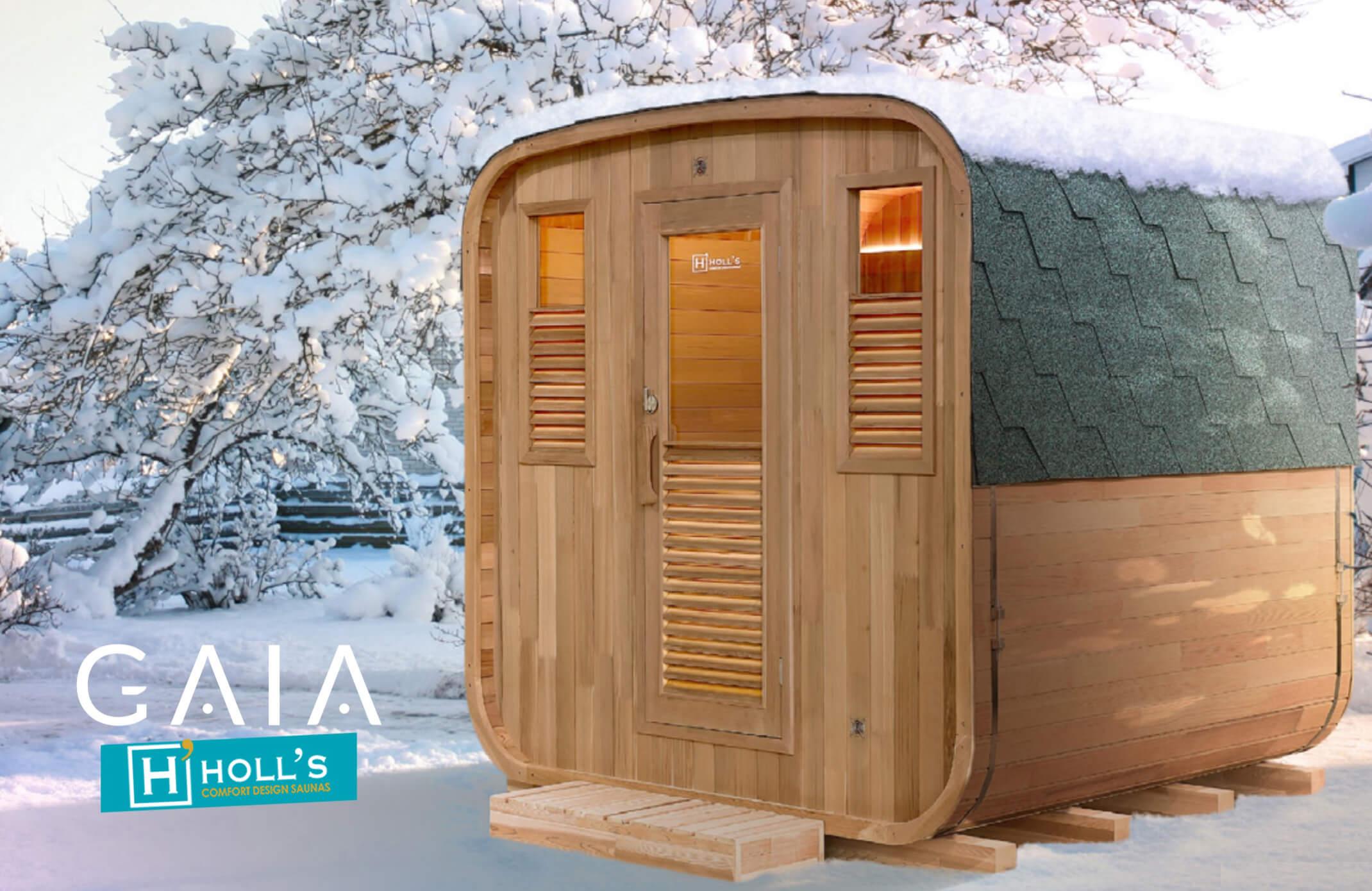 Sauna Finlandese da Esterno Gaia