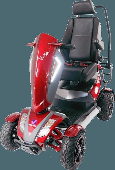 scooter elettrico senza patente per disabili Vita S12X Monster