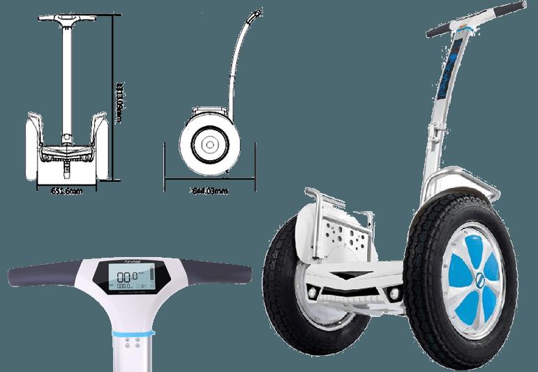 misure airwheel s5