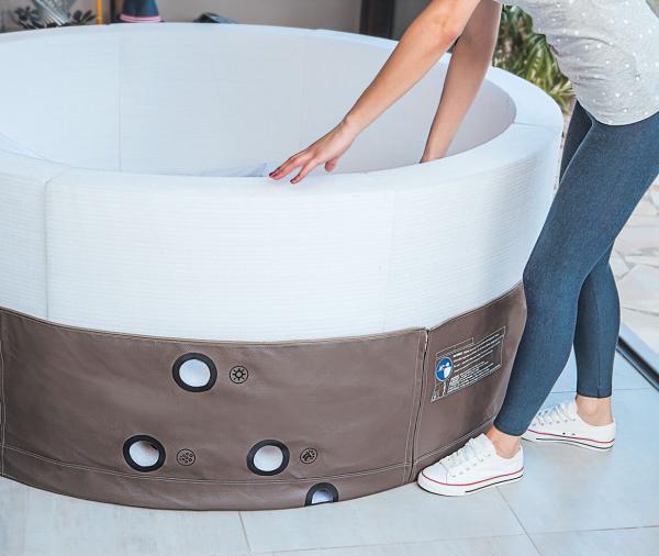 idromassaggio portatile vita premium per 6 persone. Black Bedroom Furniture Sets. Home Design Ideas