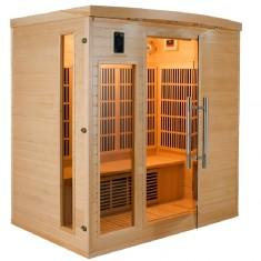Sauna infrarossi Timo in legno di Abete 4 persone, serAPOLLON4, 3.249 €