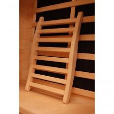 Schienale comfort per Sauna Infrarossi o Finlandese