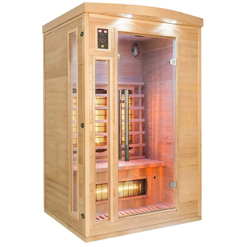 Sauna a raggi infrarossi al Quarzo 2 persone Timo, sapollon2, 2.599 €