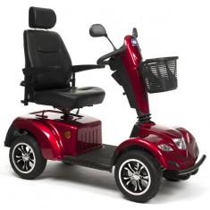 veicolo elettrico per anziani Carpo colore rosso