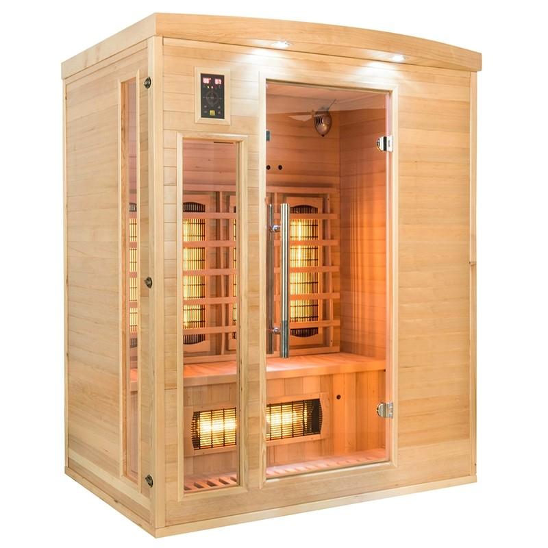 Sauna raggi infrarossi al Quarzo 3 posti Timo, snAPOLLON3, 2.799 €