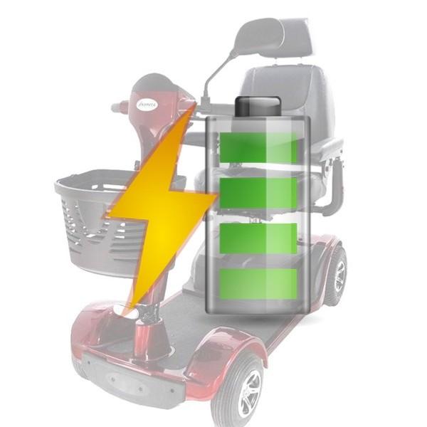 Kit Batterie di Ricambio per Scooter Kometa Scudo, batterie Scudo 12v 33Ah, 369 €