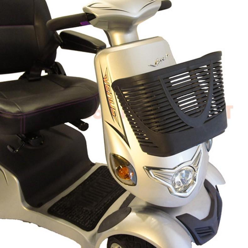 Cestino portapacchi anteriore da scooter per disabili