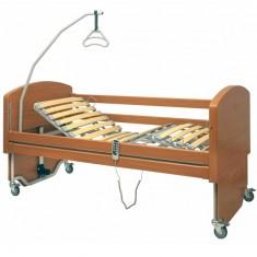 Letto da degenza elettrico in legno per anziani e disabili Rebecca