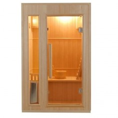 Sauna Finlandese 2 posti 120 x 110 CM in Abete Canadese Ten , ZEN-2, 2.499 €