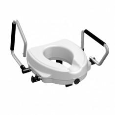 Rialzo per WC con vite centrale e braccioli ribaltabili, 857119, 79 €