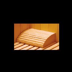 Poggiatesta in legno per sauna tradizionale od infrarossi
