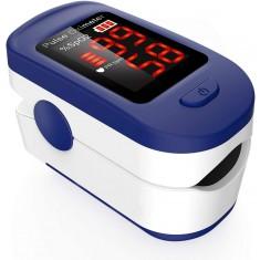 Saturimetro Pulsossimetro da Dito Professionale con Display LCD per misurare i Livelli di ossigeno SpO2 e Battito Cardiaco, CI-T5I7-UJ97pre, 24 €