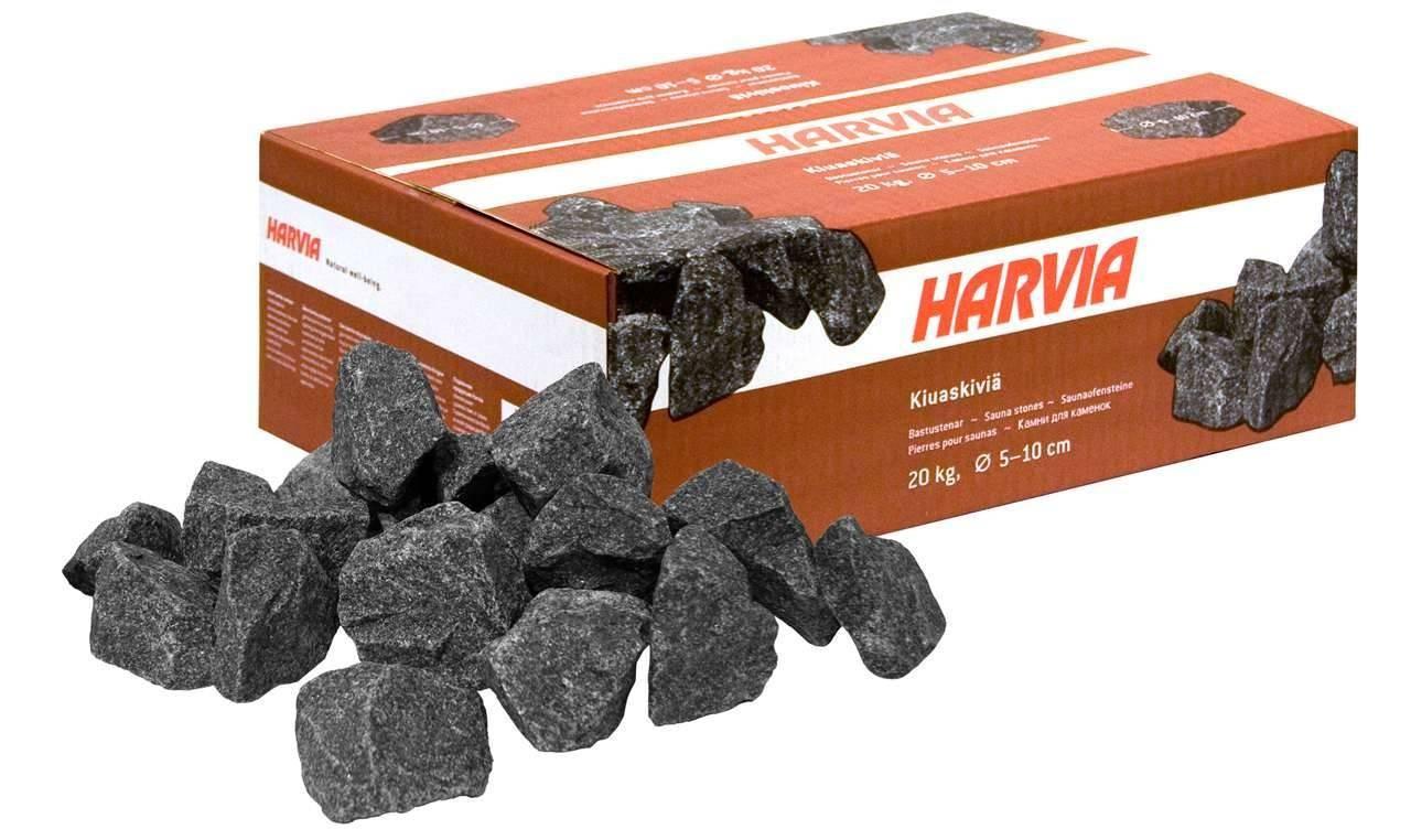 Pietre laviche 20 KG per stufa Harvia diametro 5/10 CM, Pietre laviche diametro 5/10 CM, 49 €