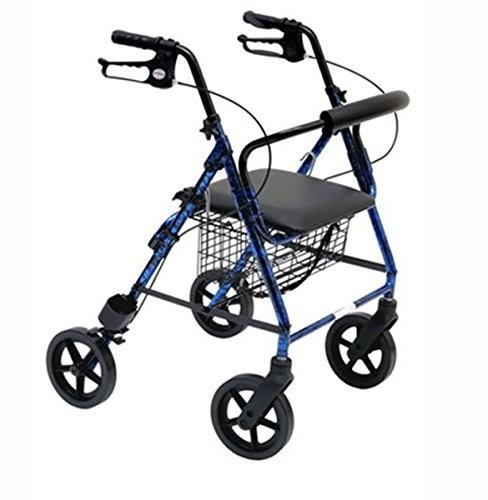 girello per disabili pieghevole