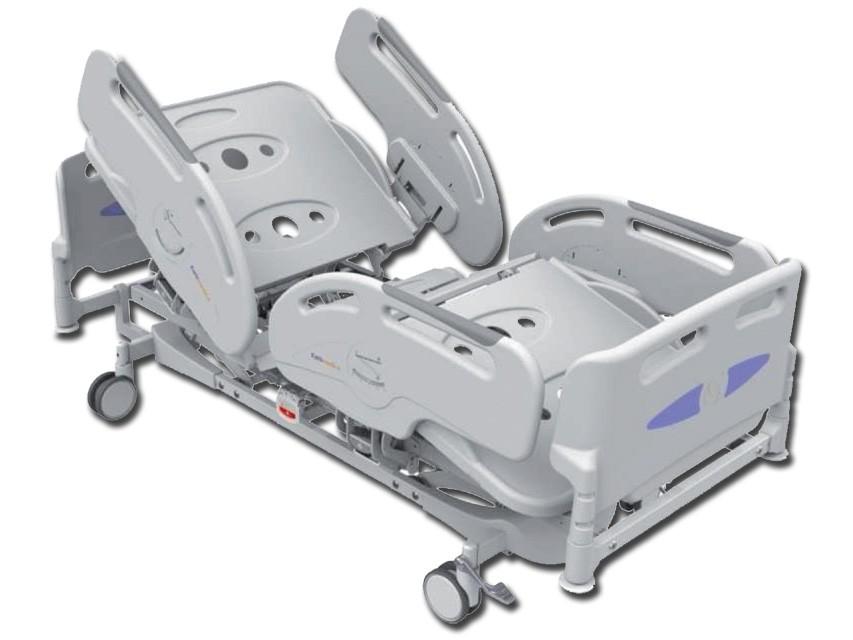Letto ospedaliero elettrico degenza 3 snodi portata 240 kg - Letto ospedaliero ...