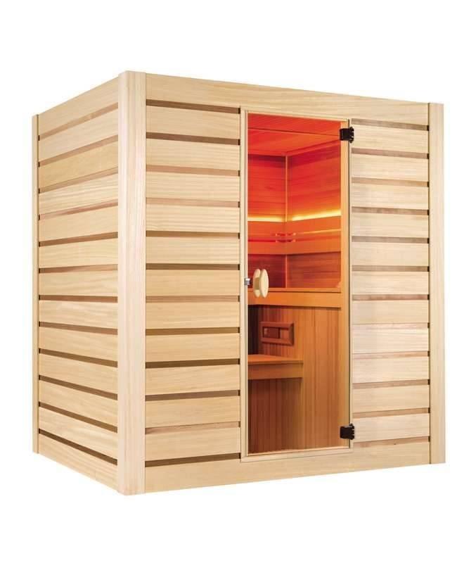 sauna finlandese 6 posti