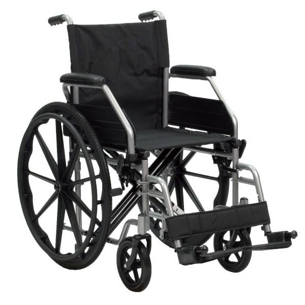Sedia a rotelle da autospinta pieghevole pbd doppia for Sedia a rotelle doppia crociera