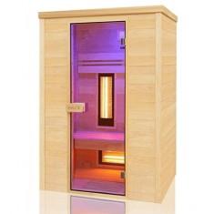Sauna ad infrarossi Wave 2 posti Quarzo e Magnesio 130 x 100, Holl's Multiwave 2 posti, 2.790€