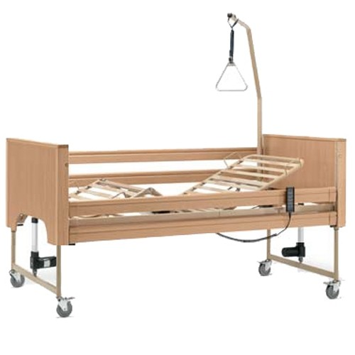 Letto disabili e anziani da degenza elettrico in legno siesta - Scaldino elettrico per letto ...