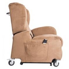Poltrona per disabili elettrica con braccioli rimovibili e ruote Life , 576200XX, 1.230€