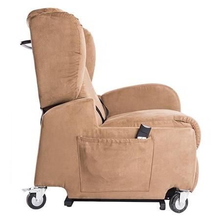 Poltrona per disabili elettrica con braccioli rimovibili e ruote Life , 576200XX, 1.230 €