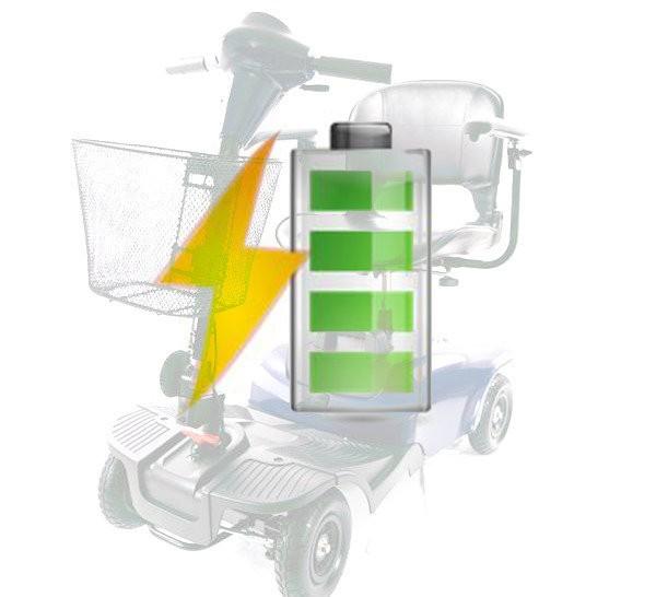 Kit Batterie di Ricambio per Scooter Elettrico Vermeiren Antares 4 Venus 3 Venus 4 e Wimed Jerry, batterie_antares_4, 239€