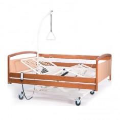 letto bariatrico elettrico ad una piazza e mezza da 140 cm con 3 motori Vermeiren Intervanl XXL