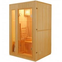 Sauna Finlandese 2 posti 120x110 CM in Abete Canadese Ten