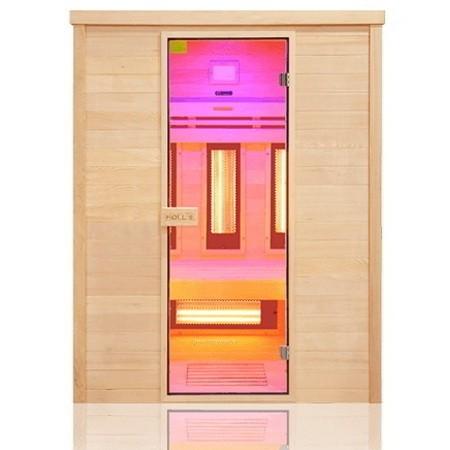 Sauna ad infrarossi 3 posti con emettitori Quarzo e Magnesio Wave , Holl's Multiwave 3 posti , 2.950€
