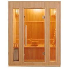 Sauna 3 posti Finlandese in Abete Canadese Ten 153 x 110 CM, zen 3, 3.299 €