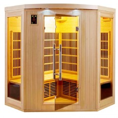 Sauna infrarossi angolare 4 posti Full Optional Timo
