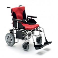 carrozzina elettrica pieghevole per disabili