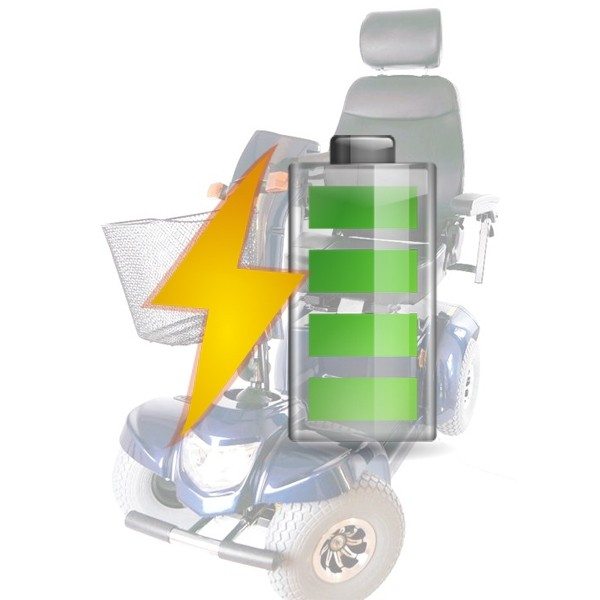 batterie di ricambio per scooter per disabili Ceres 4