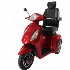 scooter elettrico per disabili a 3 ruote Kometa Mediland Vertigo rosso