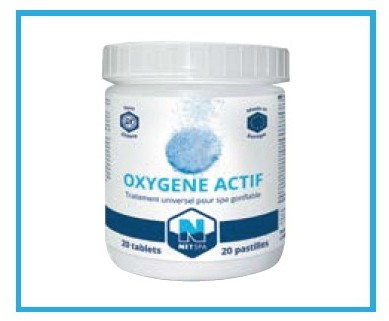 Pastiglia Ossigeno attivo per vascha idromassaggio , SP-NOXYTAB-20, 29 €