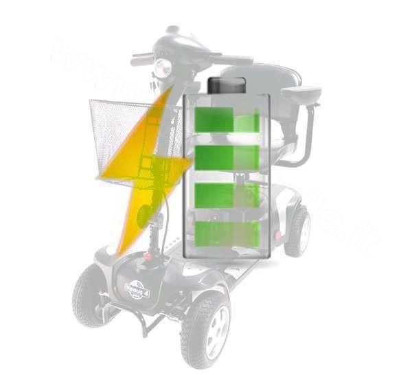 batterie di ricambio per scooter elettrici per disabili Vermeiren Venus e Kometa Sirio o Liberty